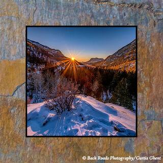 Endo Valley Sunrise on Slate