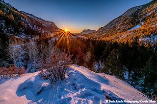 Endo Valley Sunrise