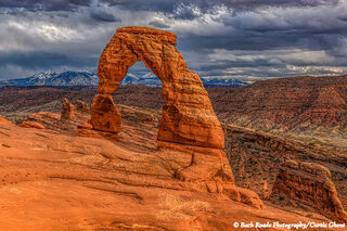Evening at Delicate Arch