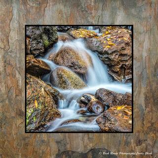 Fall Leaf Waterfall