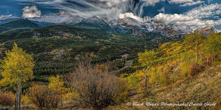 Fall, Rocky Mountain National Park, Bierstad Moraine, Clouds
