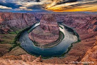 page, Arizona, Colorado river, sunset, southwest