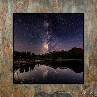 Moonrise Milky Way