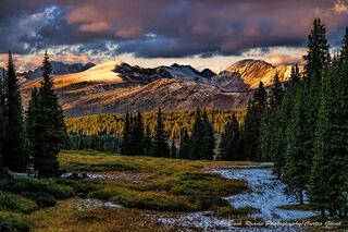 Shrine Mountain Sunset