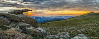 Tombstone Ridge Panorama