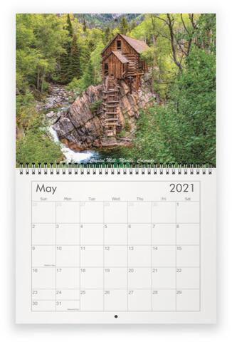 2020 Backroads Photography Calendar