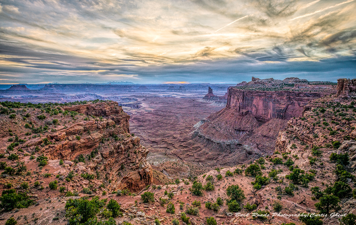 Sunset in Canyonlands National Park is a special time and this evening was no different.