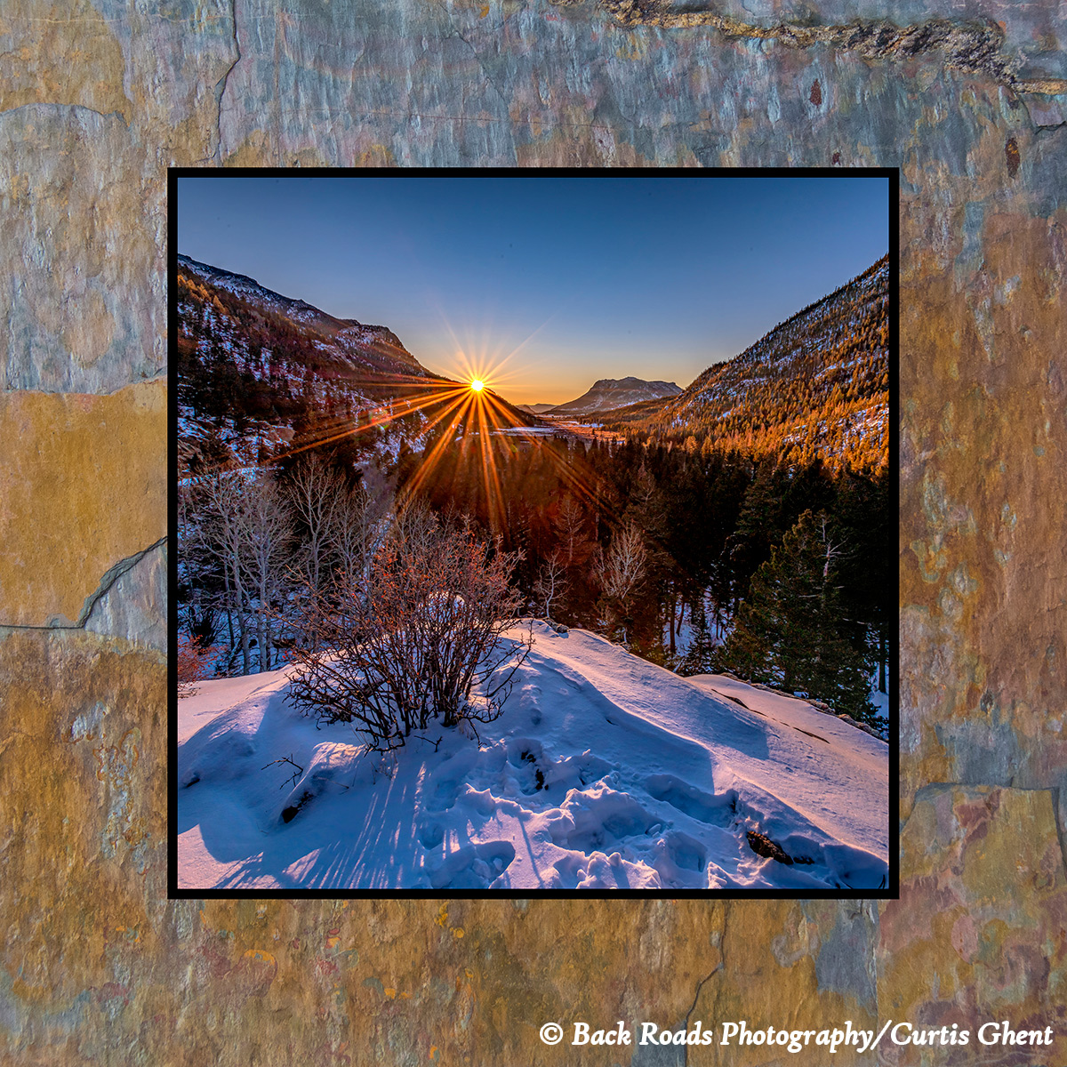 Images are laminated on natural slate with a fade and scratch resistant coating. Natural slate varies in color and texture making...