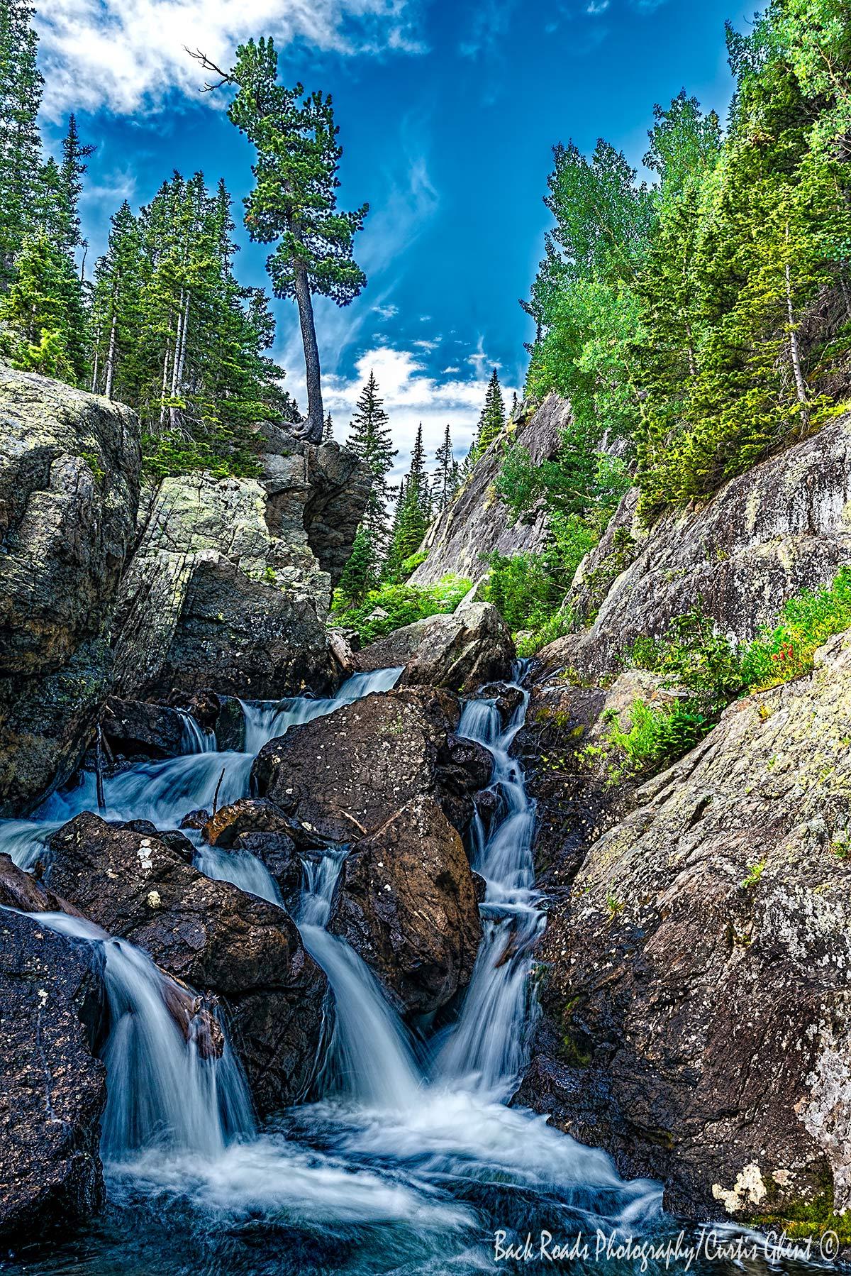 Waterfalls, Glacier, Mills , photo