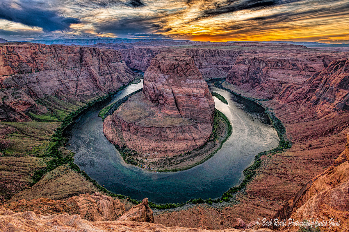 This is a great place to visit.  A wonderful vista stretches out before you while you are perched on the edge with the Colorado...