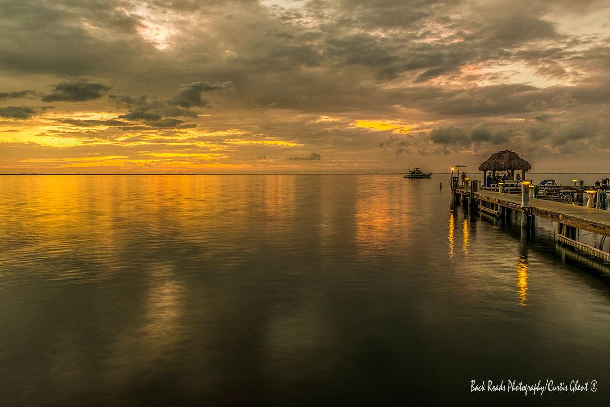 Beautiful sunset in Key Largo