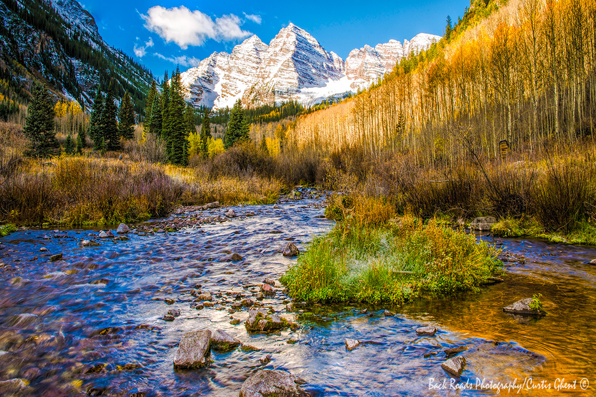 Maroon Bells is an iconic fall photograph.