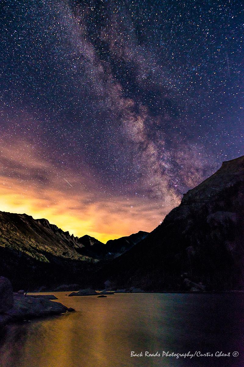 Milky Way Over Mills