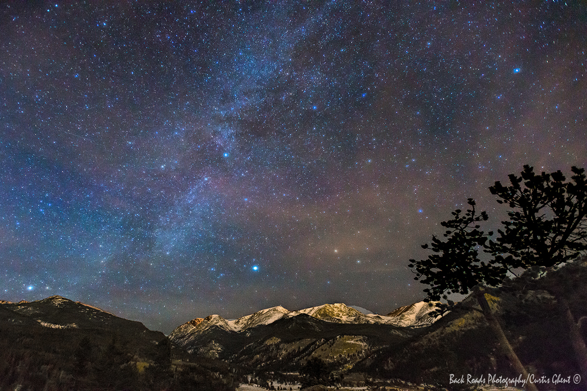 Some images are being in the right place at the right time.  This image required a lot of planning to capture the Milky Way...