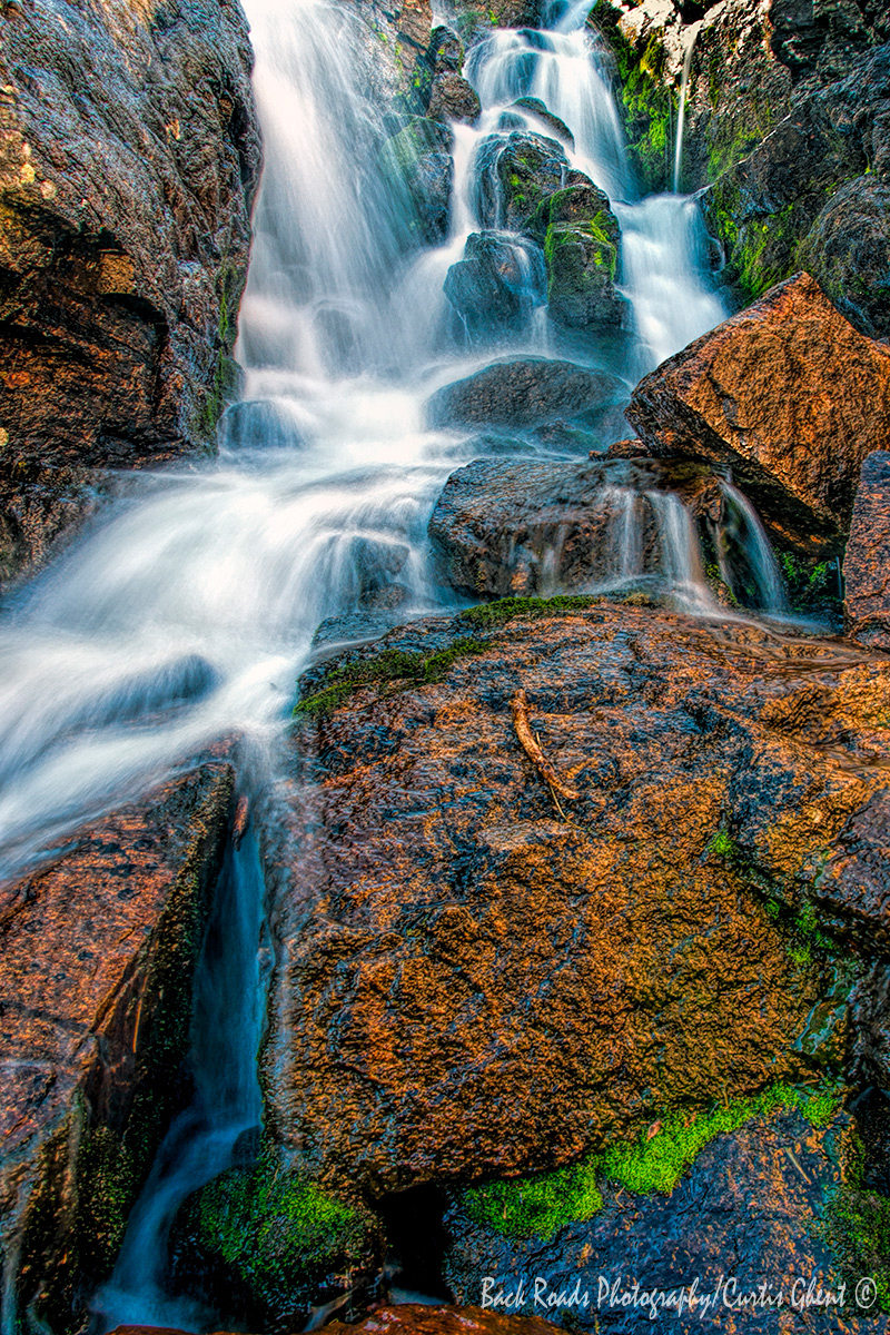 Timberline Falls in Rocky Mountain National Park.